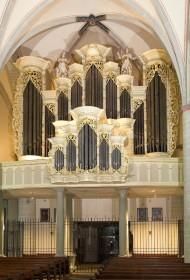 Borgentreich, St. Johannes Bapt., Barockorgel